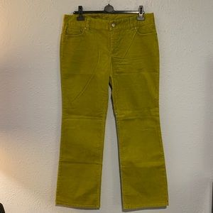 Fine Wale Stretch Corduroy Pants